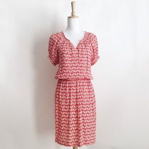 Taylor Red Dragon Fly Dress Size 10